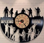 The Walking Dead Vinyl Wall Clock