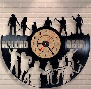 The Walking Dead Vinyl Wall Clock