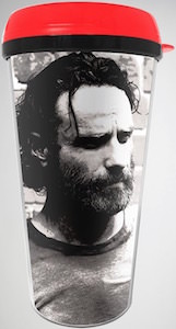 The Walking Dead Bearded Rick Grimes Travel Mug