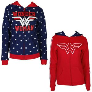 Wonder Woman Reversible Hoodie