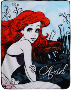 Ariel The Little Mermaid Blanket