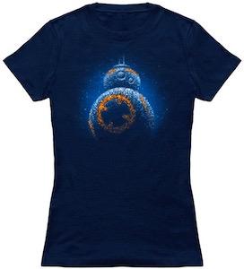 Star Wars sparkling BB-8 t-shirt