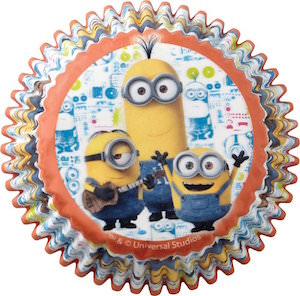 Minion Baking Cups