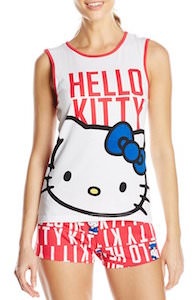 Women's Hello Kitty Short Pajama Set