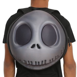The Nightmare Before Christmas Jack Skellington Round 3D Face Backpack