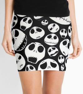 Jack Skellington Pencil Skirt