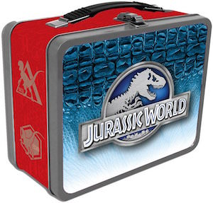 Jurassic World Metal Lunch Box