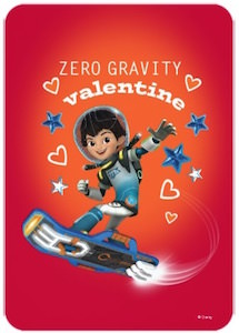 Miles From Tomorrowland Zero Gravity Valentine's Day Card