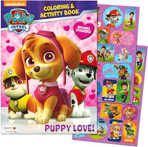 PAW Patrol Puppy Love Coloring & Activity Book