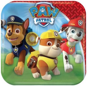 PAW Patrol Square Paper Plates