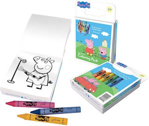 Peppa Pig Coloring And Activity Pack