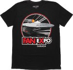 Star Trek USS Enterprise Fan Expo T-Shirt