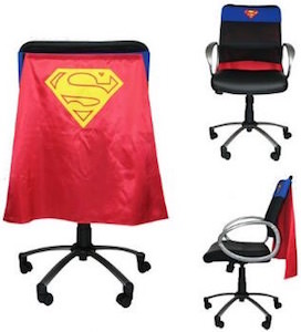 Superman / Supergirl Chair Cape