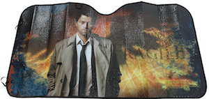 Supernatural Castiel Car Sun Shade