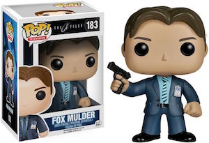 Fox Mulder Pop! Figurine