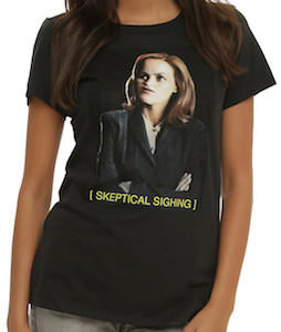 The X Files Sighing Scully T-Shirt
