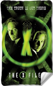 The X Files The Truth Is Out There Blanket