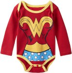 Wonder Woman Baby Girl Costume Bodysuit