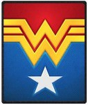 Wonder Woman Logo Design Throw Blanket