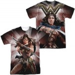 Wonder Woman Front And Back T-Shirt