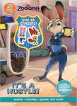 Zootopia It's A Hustle Activity Book