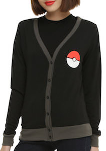 Poke Ball And Pikachu Women's Cardigan