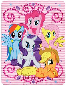 My Little Pony Throw Blanket
