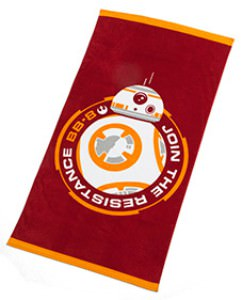 BB-8 Star Wars Resistance Beach Towel