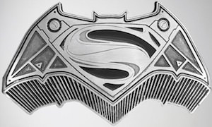Batman VS Superman Belt Buckle