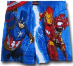 Captain America And Iron Man Boxers Shorts