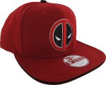 Marvel Deadpool Logo Snapback Hat