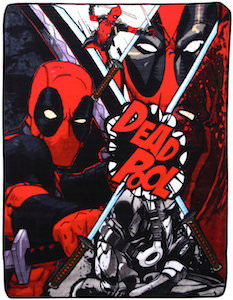 Deadpool Sharp Guy Throw Blanket