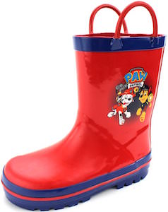 PAW Patrol Red Rain Boots
