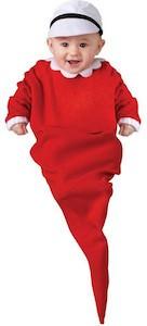 Popeye Sweet'Pea Infant Costume