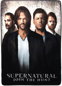 Supernatural Join The Hunt Throw Blanket