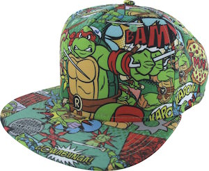 Teenage Mutant Ninja Turtles Heroes All Over Hat