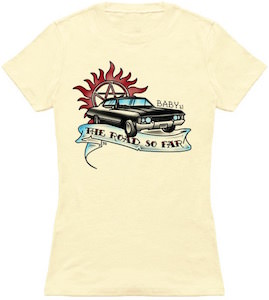 Supernatural The Road So Far Impala T-Shirt