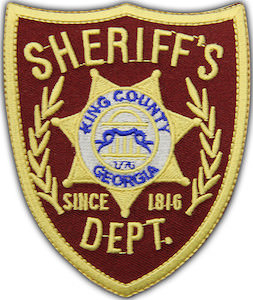 The Walking Dead Sheriff's Patch