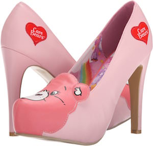 Pink Care Bears Stare Pumps