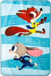 Zootopia Judy And Nick Throw Blanket