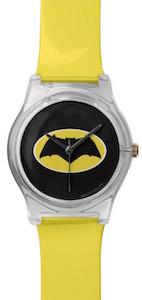 Batman Yellow And Black Logo Watch