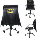 Dc Comics Black Batman Chair Cape