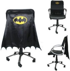 Black Batman Chair Cape