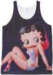 Swimsuit Wearing Betty Boop Tank Top