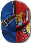 Captain America cap with Iron man and Captain America