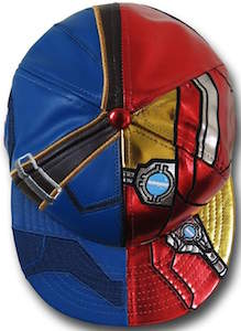Captain America Civil War Dual Hero Cap