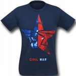 Captain America Civil War Star T-Shirt
