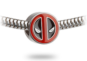 Deadpool Logo Charm Bead
