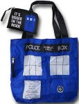 Doctor Who Foldable Tardis Tote Bag