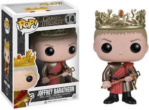 Game of Thrones King Joffrey Baratheon Figurine